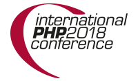 International PHP Conference 2018 - Call for Papers