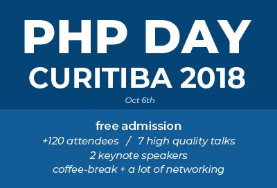 PHP Day Curitiba 2018
