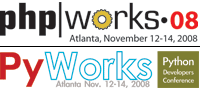 php|works / PyWorks 2008: Chicago